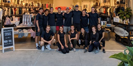 Run with lululemon x Dylan Efron x Nosotros Tequila @ The Point
