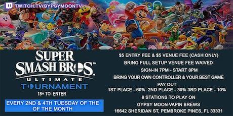Bi-Weekly Super Smash Bros Ultimate tournament tickets