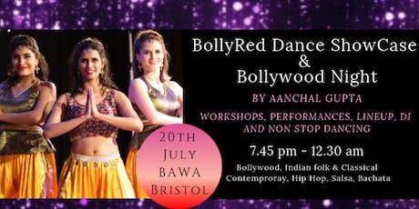 BollyRed Dance Showcase and Bollywood Night with DJ Dark RoadShow tickets