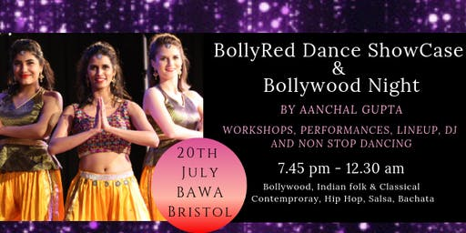 BollyRed Dance Showcase and Bollywood Night with DJ Dark RoadShow