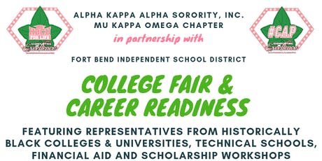 It's Game Time. Get Geared Up!  College Fair and Career Readiness  tickets