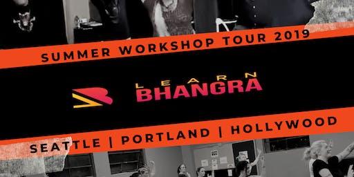 Learn Bhangra Workshop SEATTLE #bollywood #dance #fitness