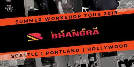 Learn Bhangra Workshop PORTLAND #bollywood #fitness tickets