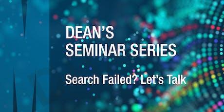 Dean's Seminar Series: Professor Ron Kaplan tickets