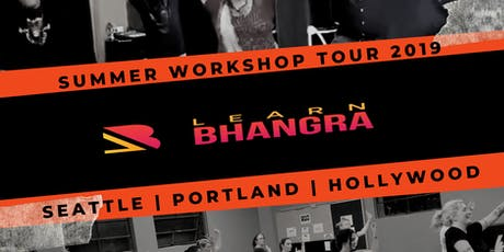 Learn Bhangra Workshop HOLLYWOOD, CA #dance #bollywood #fitness tickets