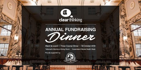 Fundraising Dinner for ClearThinking Queensland tickets