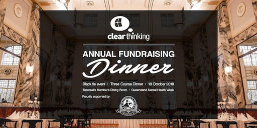 Fundraising Dinner for ClearThinking Queensland
