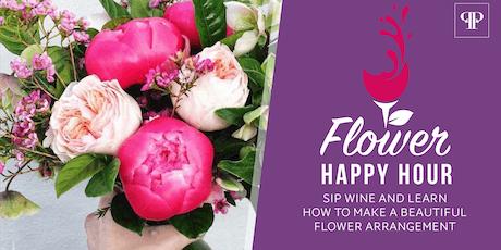 Flower Happy Hour Workshop tickets