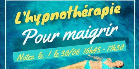 MAIGRIR AVEC L'HYPNOTHERAPIE billets