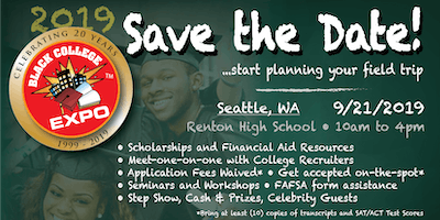 2nd Annual Seattle Black College Expo -FREE