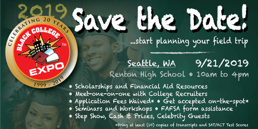 2nd Annual Seattle Black College Expo