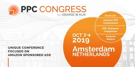 PPC Congress 2019 (Amsterdam) - Amazon Advertising Conference tickets
