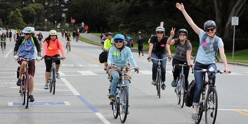 SF Bicycle Coalition On-Bike Practice for Beginning Adult Cyclists