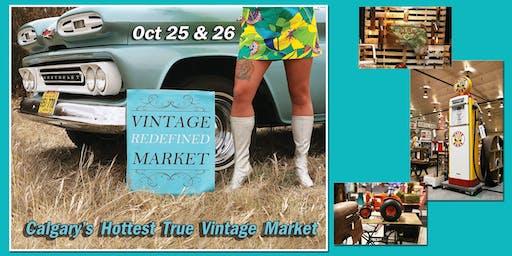 Vintage Redefined Market: Calgary's Hottest True Vintage Market!