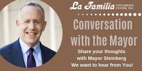 Conversation with Mayor Steinberg tickets