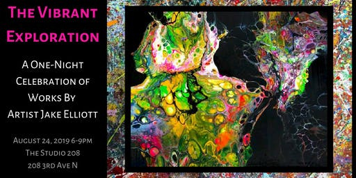 The Vibrant Exploration: A One-night Celebration of Works by Jake Elliott