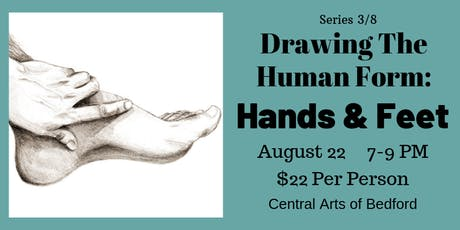 Drawing the Human Form: Hands & Feet tickets