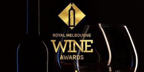 Royal Melbourne Wine Awards Presentation Dinner 2019  tickets