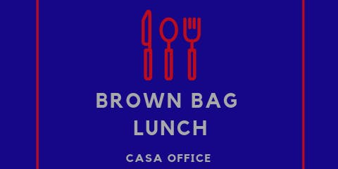 CASA Brown Bag Lunch - New Beginnings Pregnacy Center