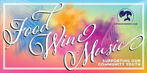 Neptunian Woman's Club Food Wine Music Fundraiser