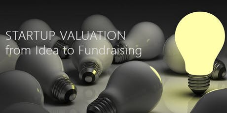 STARTUP VALUATION - from Idea to Fundraising tickets