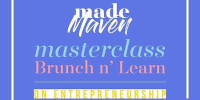 MADE Maven Masterclass on Entrepreneurship