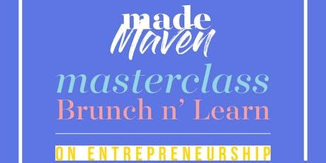 MADE Maven Masterclass: Entrepreneurship tickets