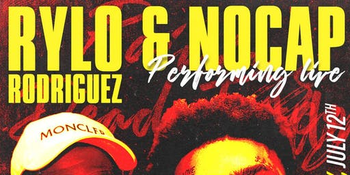 Performing Live Rylo Rodriguez & No Cap