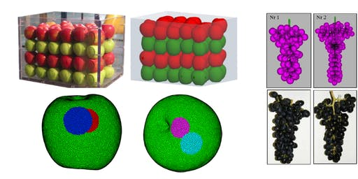 The modelling of granular material behaviour in the mining and agricultural sectors