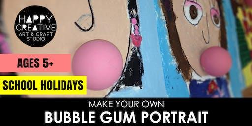 Bubblegum Portraits (Ages 5+)
