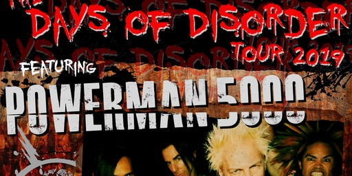 Powerman 5000 // (həd) p.e. // Adema // Blacklist Regulars