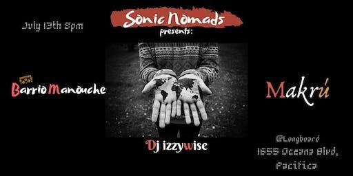 Barrio Manouche/Makrú/DJ Izzy Wise