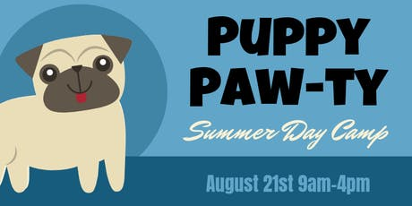 Summer Day Camp - Puppy Paw-ty tickets