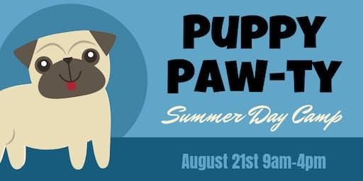 Summer Day Camp - Puppy Paw-ty *SOLD OUT*