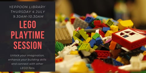 LEGO Playtime Session @ Yeppoon Library
