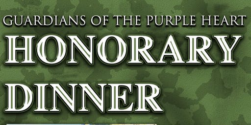 Guardians of the Purple Heart Honorary Dinner