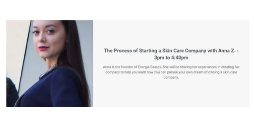 The Process of Starting a Skin Care Company with Anna Z.