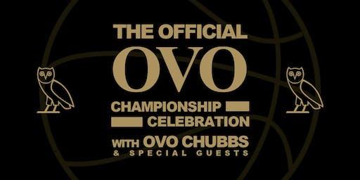 The Official OVO Championship Celebration in LA!