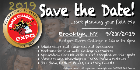 8th Annual New York Black College Expo  tickets