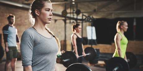 Intermediate Strength Training and Powerlifting tickets