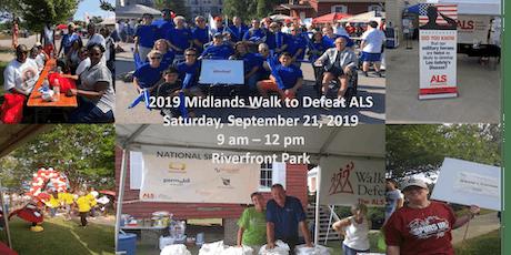 2019 Midlands Walk to Defeat ALS - VENDORS tickets