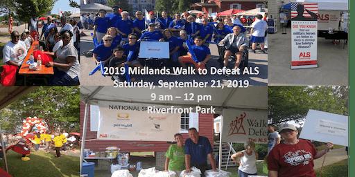 2019 Midlands Walk to Defeat ALS - VENDORS