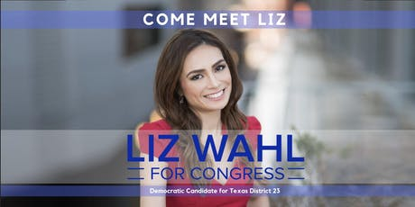 Come Meet Congressional Candidate Liz Wahl tickets