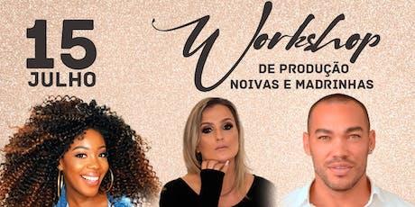 Workshop de Noivas e Madrinhas com Ju Rezende, Ítalo Luz e Danny Soares. ingressos