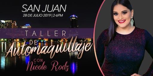 Taller de AutoMaquillaje con NICOLE RODZ- San Juan