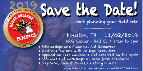10th Annual Houston Black College Expo  tickets