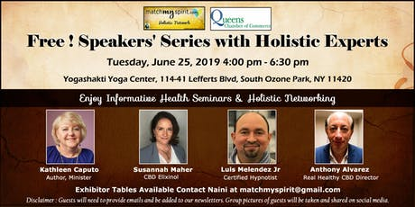 Free ! Speakers' Series with Holistic Experts tickets