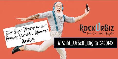 Paint UrSelf Digital @CDMX entradas