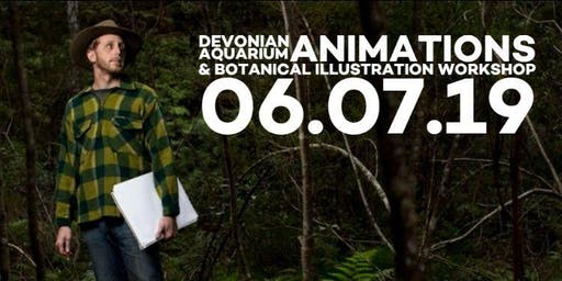 DEVONIAN AQUARIUM - ANIMATION + BOTANICAL ILLUSTRATION - MASTERCLASS