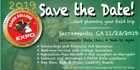 2nd Annual Sacramento Black College Expo  tickets